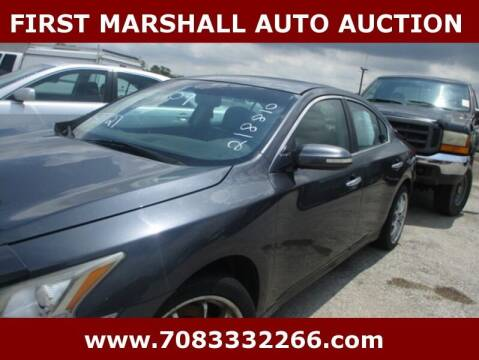 2009 Nissan Maxima for sale at First Marshall Auto Auction in Harvey IL