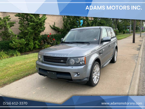2011 Land Rover Range Rover Sport for sale at Adams Motors INC. in Inwood NY