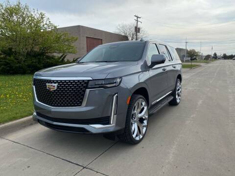 2021 Cadillac Escalade for sale at M-97 Auto Dealer in Roseville MI