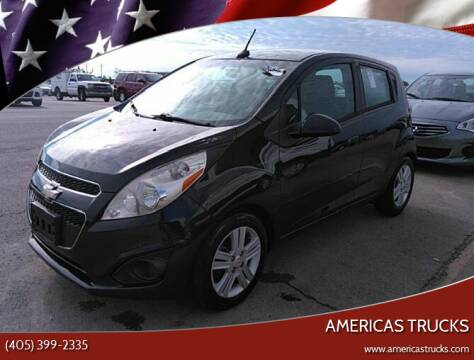 2014 Chevrolet Spark for sale at Americas Trucks in Jones OK