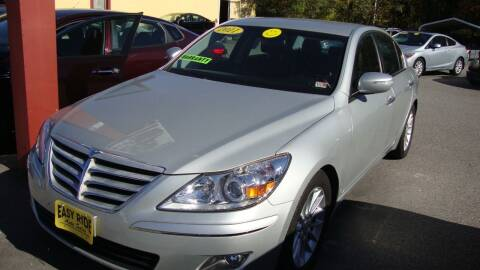 2011 Hyundai Genesis for sale at Easy Ride Auto Sales Inc in Chester VA