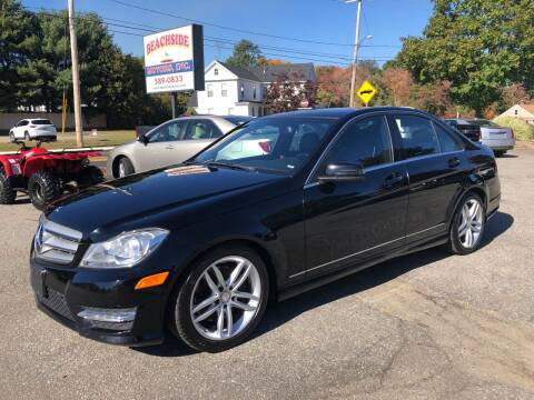 2013 Mercedes-Benz C-Class for sale at Beachside Motors, Inc. in Ludlow MA
