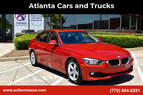 2013 BMW 3 Series for sale at Atlanta Cars and Trucks in Kennesaw GA