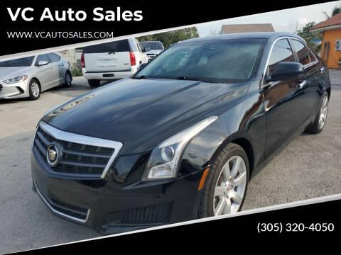 2014 Cadillac ATS for sale at VC Auto Sales in Miami FL