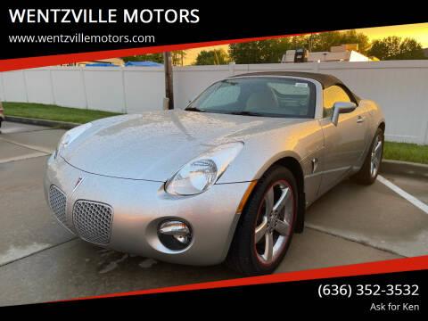 2006 Pontiac Solstice for sale at WENTZVILLE MOTORS in Wentzville MO