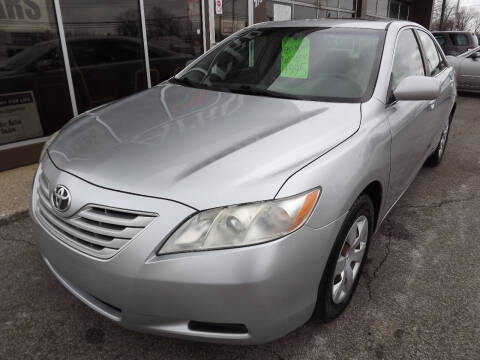 2007 Toyota Camry for sale at Arko Auto Sales in Eastlake OH