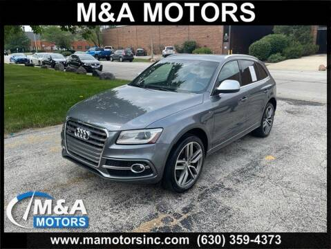 2014 Audi SQ5 for sale at M & A Motors in Addison IL