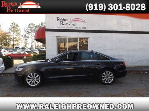 2014 Audi A6 for sale at Raleigh Pre-Owned in Raleigh NC