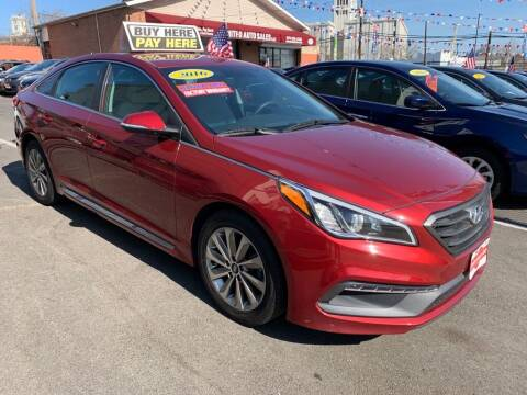2016 Hyundai Sonata for sale at United Auto Sales of Newark in Newark NJ