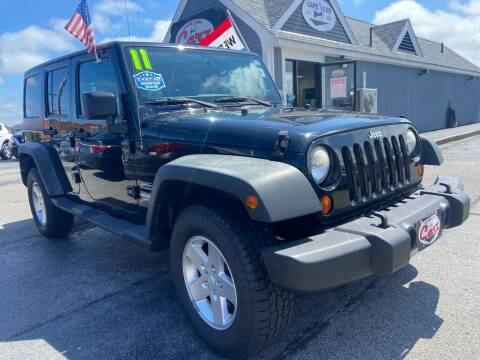2011 Jeep Wrangler Unlimited for sale at Cape Cod Carz in Hyannis MA