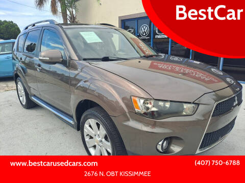 2010 Mitsubishi Outlander for sale at BestCar in Kissimmee FL