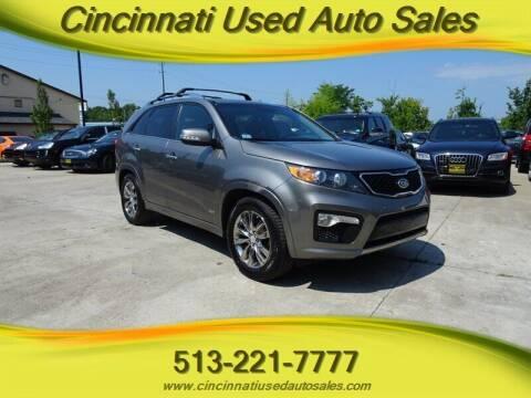 2013 Kia Sorento for sale at Cincinnati Used Auto Sales in Cincinnati OH