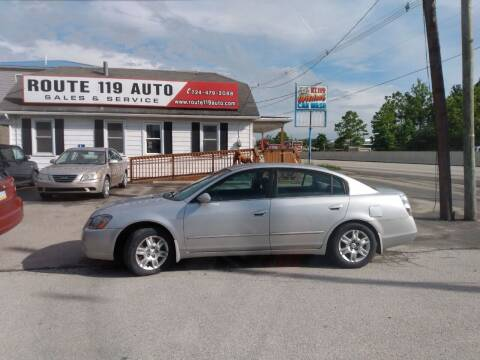 2005 Nissan Altima for sale at ROUTE 119 AUTO SALES & SVC in Homer City PA