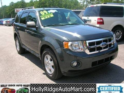 2009 Ford Escape for sale at Holly Ridge Auto Mart in Holly Ridge NC