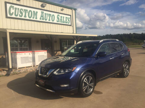 2017 Nissan Rogue for sale at Custom Auto Sales - AUTOS in Longview TX