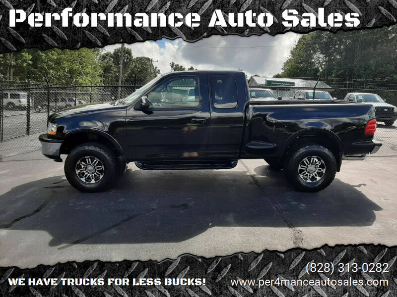 1998 Ford F-150 for sale at Performance Auto Sales in Hickory NC