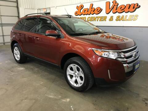 2014 Ford Edge for sale at Lake View Auto Center and Sales in Oshkosh WI