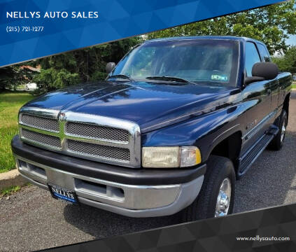 2000 Dodge Ram Pickup 2500 for sale at NELLYS AUTO SALES in Souderton PA