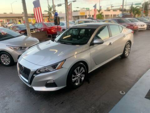 2020 Nissan Altima for sale at American Auto Sales in Hialeah FL