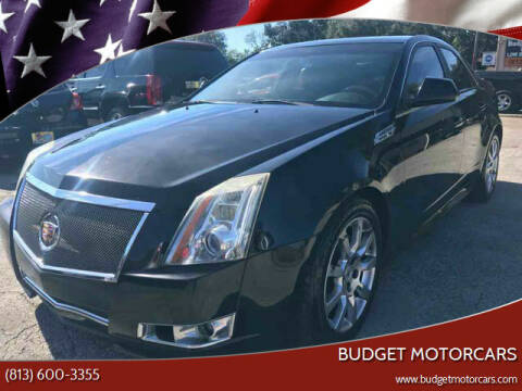 2010 Cadillac CTS for sale at Budget Motorcars in Tampa FL
