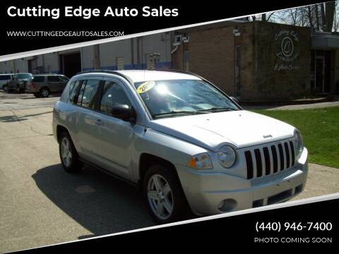 2010 Jeep Compass for sale at Cutting Edge Auto Sales in Willoughby OH