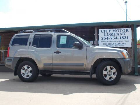 2006 Nissan Xterra for sale at CITY MOTOR COMPANY in Waco TX