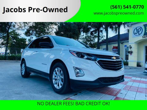 2018 Chevrolet Equinox for sale at Jacobs Pre-Owned in Lake Worth FL