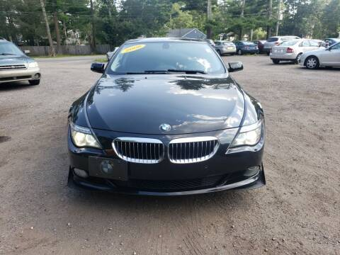 2008 BMW 6 Series for sale at 1st Priority Autos in Middleborough MA