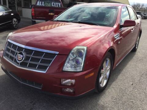 2009 Cadillac STS for sale at LOWEST PRICE AUTO SALES, LLC in Oklahoma City OK