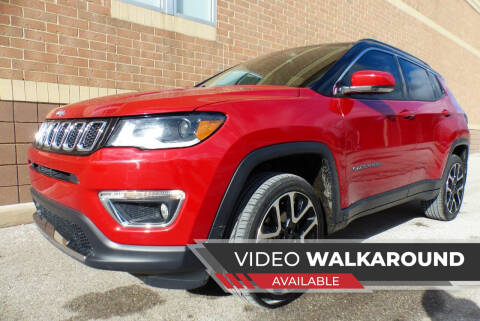2017 Jeep Compass for sale at Macomb Automotive Group in New Haven MI