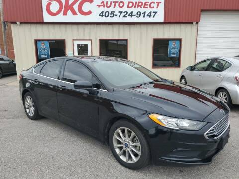 2017 Ford Fusion for sale at OKC Auto Direct in Oklahoma City OK