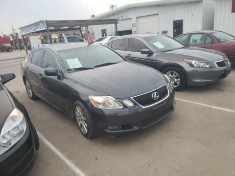 2006 Lexus GS 300 for sale at Bad Credit Call Fadi in Dallas TX