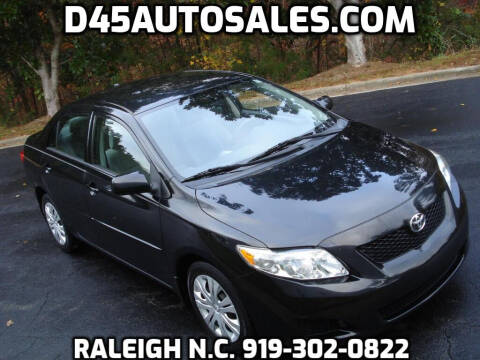 2009 Toyota Corolla for sale at D45 Auto Brokers in Raleigh NC