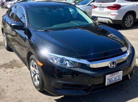 2017 Honda Civic for sale at Eden Motor Group in Los Angeles CA
