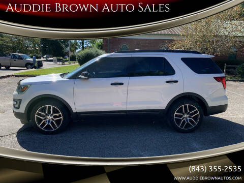 2017 Ford Explorer for sale at Auddie Brown Auto Sales in Kingstree SC