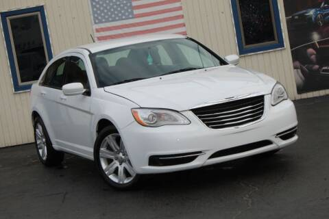 2013 Chrysler 200 for sale at Dynamics Auto Sale in Highland IN
