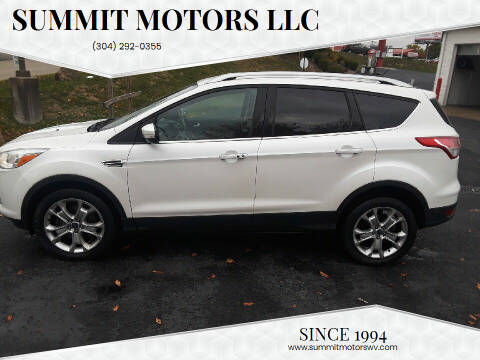 2014 Ford Escape for sale at Summit Motors LLC in Morgantown WV
