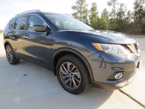 2016 Nissan Rogue for sale at Fincher's Texas Best Auto & Truck Sales in Tomball TX