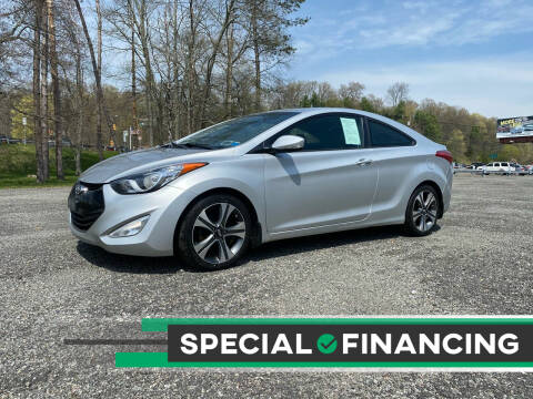 2013 Hyundai Elantra Coupe for sale at QUALITY AUTOS in Newfoundland NJ