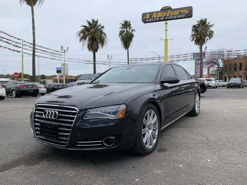 2011 Audi A8 L for sale at A MOTORS SALES AND FINANCE in San Antonio TX