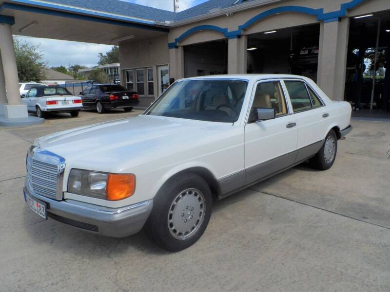 1983 Mercedes-Benz 500-Class for sale at Bavarian Auto Center in Rockledge FL
