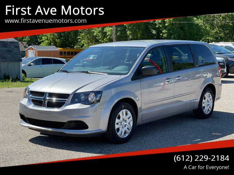 2014 Dodge Grand Caravan for sale at First Ave Motors in Shakopee MN