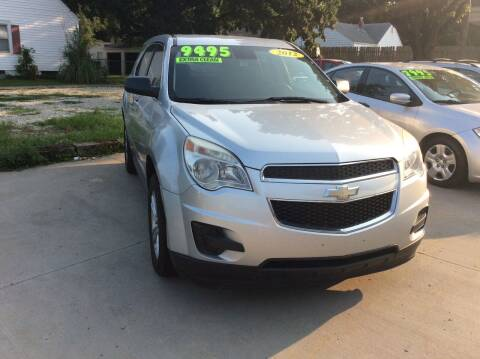 2012 Chevrolet Equinox for sale at Harrison Family Motors in Topeka KS