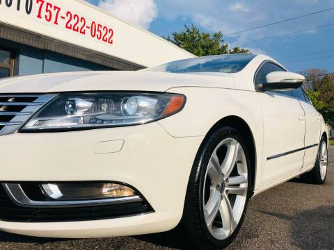 2013 Volkswagen CC for sale at Trimax Auto Group in Norfolk VA