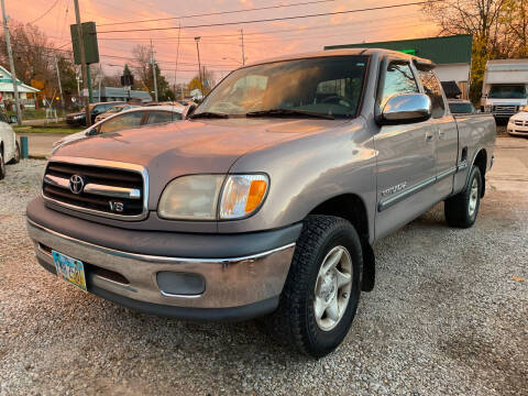 2002 Toyota Tundra for sale at GREENLIGHT AUTO SALES in Akron OH