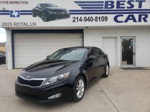 2012 Kia Optima for sale at Best Royal Car Sales in Dallas TX