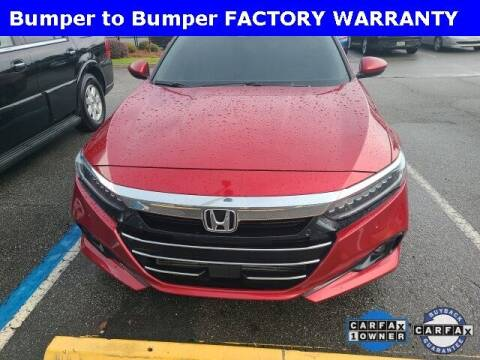 2021 Honda Accord for sale at PHIL SMITH AUTOMOTIVE GROUP - Tallahassee Ford Lincoln in Tallahassee FL