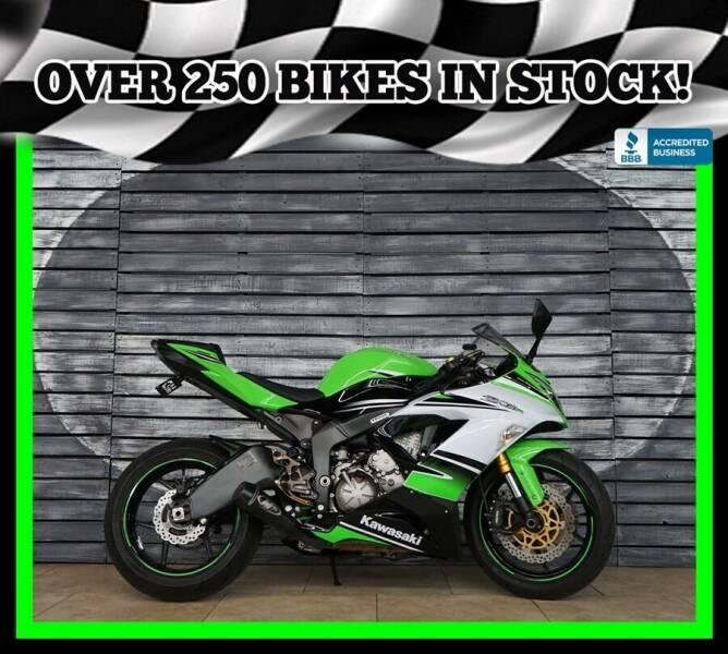 2015 Kawasaki Ninja ZX-6R for sale at Motomaxcycles.com in Mesa AZ