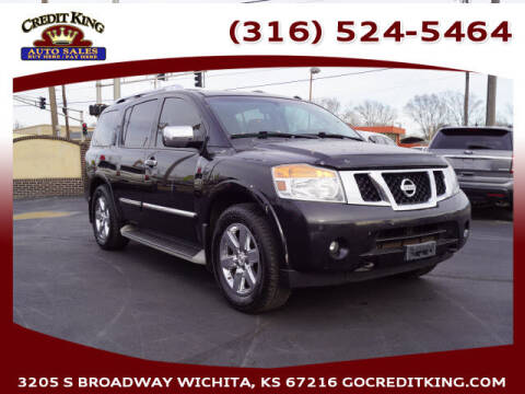 2013 Nissan Armada for sale at Credit King Auto Sales in Wichita KS