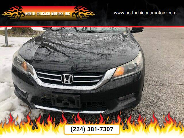 2015 Honda Accord for sale at NORTH CHICAGO MOTORS INC in North Chicago IL